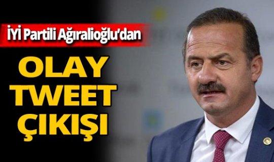 İYİ Partili Ağıralioğlu: ''Yargı mensupları tweet atamazlar''