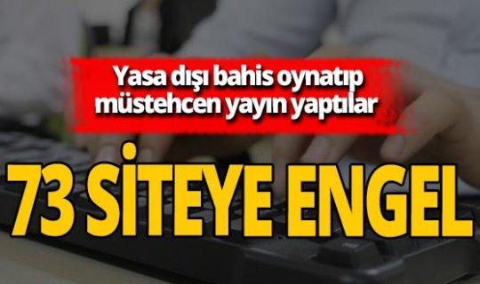 İzmir'de operasyon! 73 internet sitesine erişim engellendi