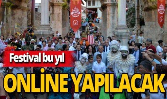 """Antalya haber:""""Kaleiçi Old Town Festivali"""" bu yıl online olacak"""