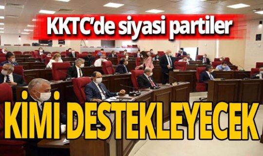 KKTC Cumhurbaşkanlığı seçimlerinde taraflar netleşti!