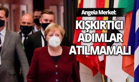 """Merkel'den """"Gelirimi düşürün"""" çağrısı"""