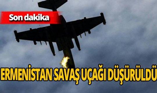 Son dakika! Azerbaycan Ermenistan'ın savaş uçağını düşürdü!