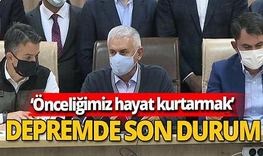 Son dakika!  Bekir Pakdemirli Binali Yıldırım, Abdülhamit Gül ve Murat Kurum son gelişmeleri paylaştı!