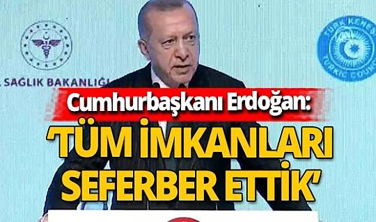 Son dakika! Cumhurbaşkanı Erdoğan'dan İzmir depremi açıklaması