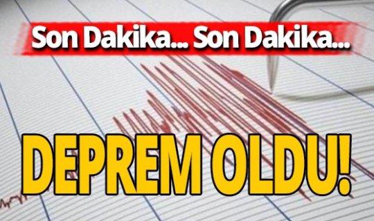 Son dakika: Gökçeada açıklarında deprem oldu!