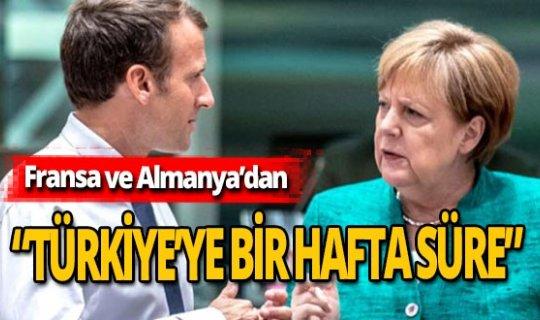 """""""Türkiye'ye bir hafta süre verildi"""" iddiası"""