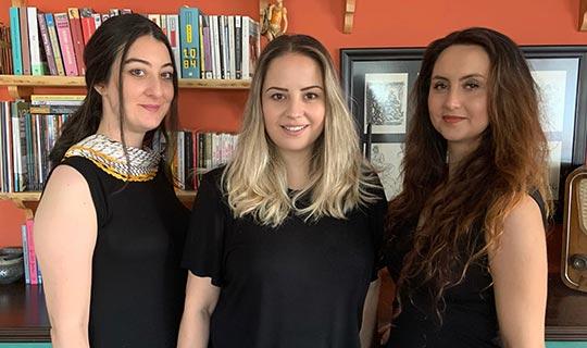 Üç kadın sanatçı akademi kurdu