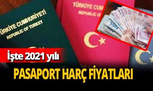 2021 yılı pasaport harç fiyatları belli oldu! Pasaport harç fiyatları ne kadar?