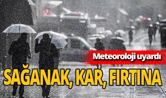 22 Kasım 2020 Hava durumu nasıl olacak? Meteoroloji'den sağanak, fırtına ve kar uyarısı!