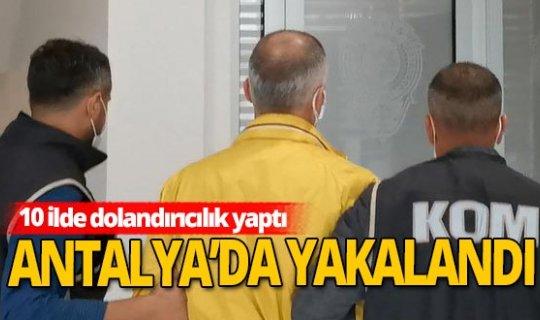 23 suçtan cezası bulunan şüpheli Antalya'da yakalandı