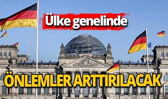 Almanya koronavirüs önlemlerini arttırıyor