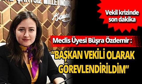 Antalya son dakika...Büyükşehir'deki vekillik tartışmaları devam ediyor! Büşra Özdemir'den açıklama geldi