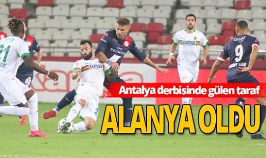 Antalyaspor - Alanyaspor maçı son erdi