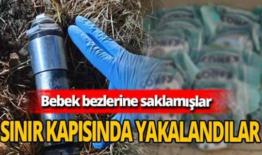 Bebek bezinde bomba şoku! Teröristler tutuklandı!
