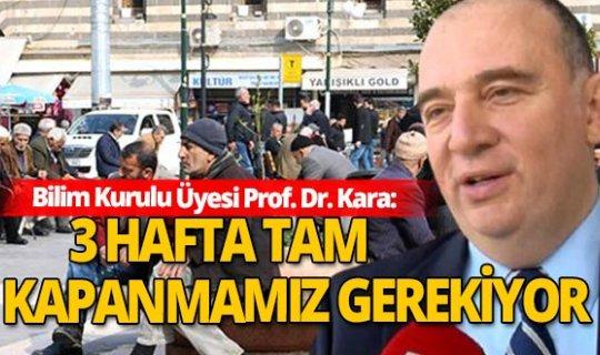 Bilim Kurulu Üyesi Prof. Dr. Ateş Kara'dan korkutan açıklama