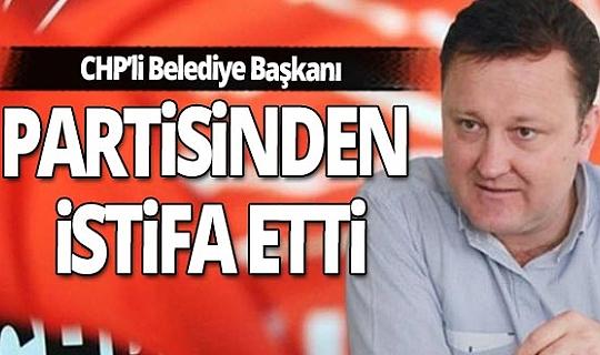 CHP'li Menemen Belediye Başkanı Serdar Aksoy partisinden istifa etti