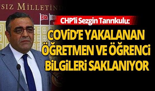 CHP'li Sezgin Tanrıkulu'ndan önemli iddia