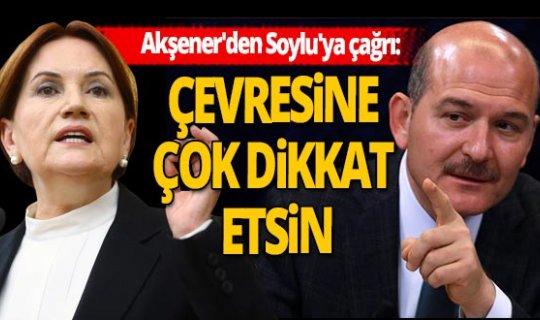 Emrem İmamoğlu iddiası yalanlanan Akşener'den Bakan Soylu'ya çağrı