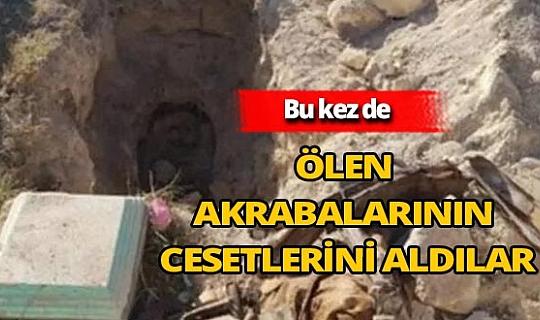 Ermeniler mezarları kazdı, cesetleri yanlarına aldı