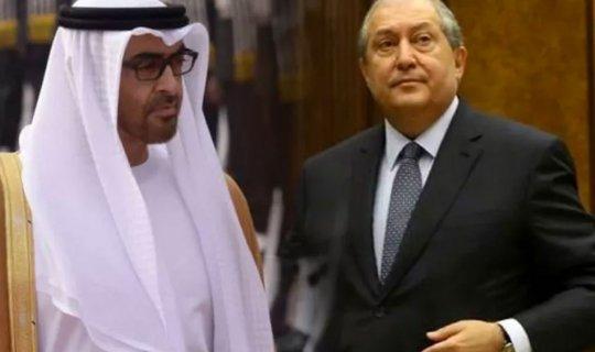 Ermenistan Cumhurbaşkanı Sarkisyan ile Veliaht Prens Muhammed bin Zayed Azerbaycanla yapılan ateşkesi görüştü