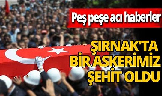 Hakkari ve Şırnak'tan peş peşe acı haberler! Kayseri'ye de şehit ateşi düştü!