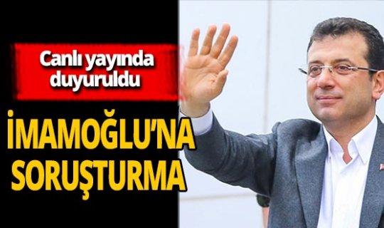 """İYİ Parti Genel Başkanı Meral Akşener duyurdu: """"İstanbul Büyükşehir Belediye Başkanı Ekrem İmamoğlu'na soruşturma açıldı"""""""