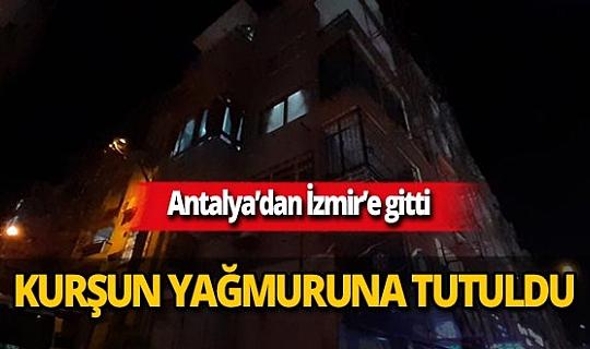 İzmir'de 70 yaşındaki adam kendisini uyaran Tolga Taşkaner'e kurşun yağdırdı