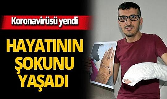 İzmir'de koronavirüsü yenen Murat Dal saldırıya uğradı