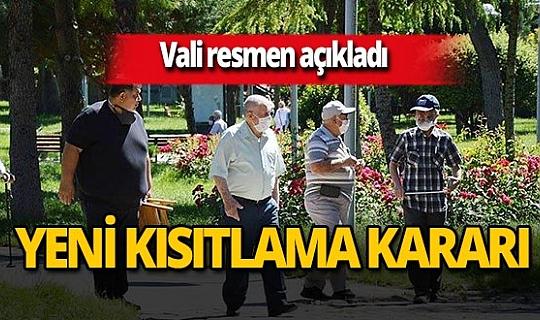 SON DAKİKA! İzmir Valisi Yavuz Selim Köşger duyurdu: İzmir'de 65 yaş üstü vatandaşlar için sokağa çıkma kısıtlaması getirildi
