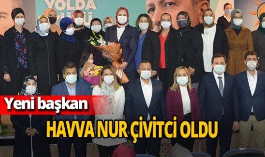 Korkuteli İlçe Kadın Kolları'nın yeni başkanı Havva Nur Çivitci oldu