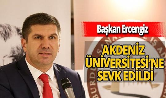 Koronavirüs tedavisi gören Belediye Başkanı Ercengiz, Akdeniz Üniversitesi'ne sevk edildi