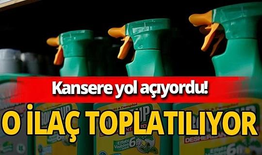 Mahkeme kararını verdi! Kansere sebep olan Roundup Türkiye'de toplatılacak