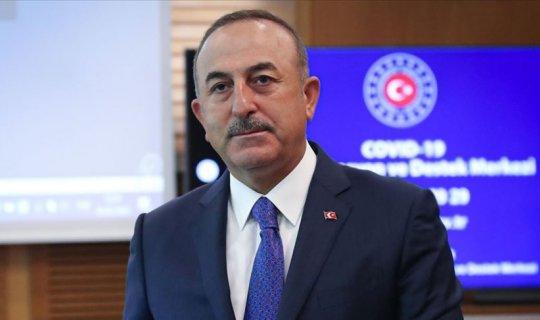 Mevlüt Çavuşoğlu, Dr. Abdullah Abdullah ile görüştü