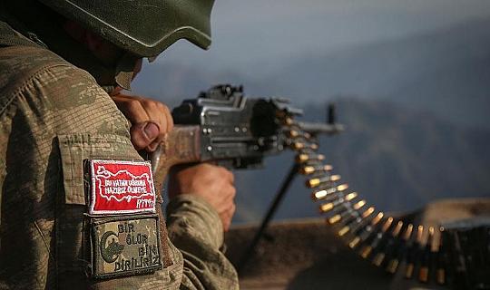 MSB Açıkladı: 6 PKK/YPG'li terörist etkisiz halde