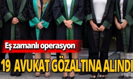 Son dakika! DTK Soruşturmasında 19 avukat gözaltında!