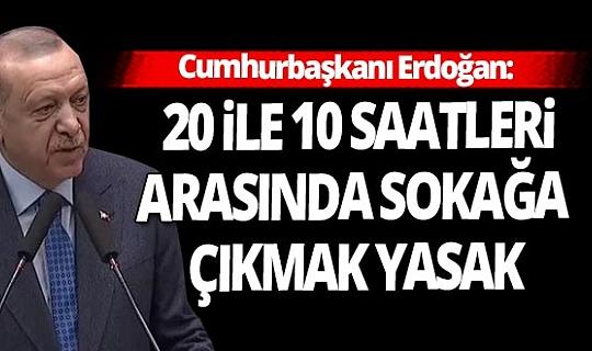 SON DAKİKA! Cumhurbaşkanı Recep Tayyip Erdoğan yeni tedbirleri duyurdu! İşte yeni koronavirüs kısıtlamaları