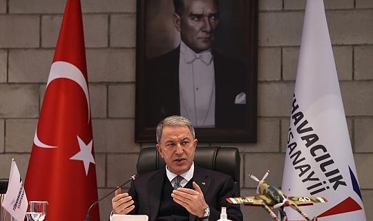 """Son dakika....Milli Savunma Bakanı Hulusi Akar: """"Kara Kuvvetlerimiz çalışmalarını tamamladı"""""""