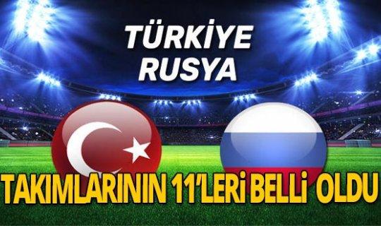 Türkiye Rusya maçı saat kaçta? Milli maç hangi kanalda yayınlanacak?