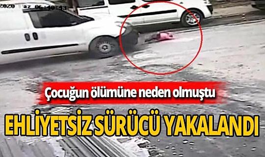 3 yaşındaki Ayşe'ye çarpıp kaçan sürücü yakalandı