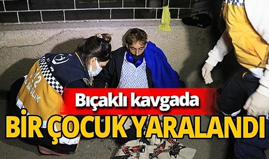 Adana'da bıçaklanan genç telefonu alıp ailesini arayıp haber verdi
