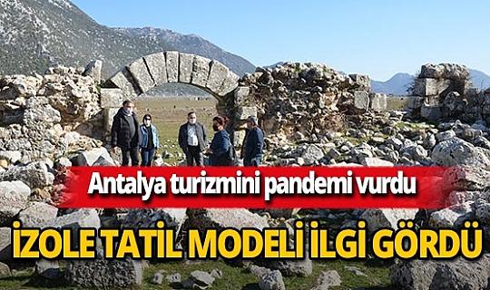 Antalya'da turizmciler alternatif turizme yöneldi
