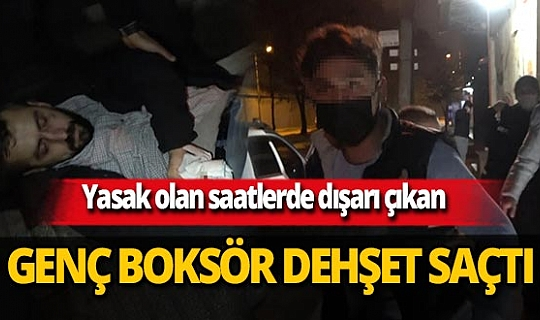 Bursa'da sokağa çıkma yasağına uymayan Süleyman Satılmış sokak ortasında dehşet saçtı