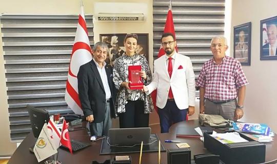 KKTC Antalya Turizm Temsilciliği'ne 20 Temmuz ziyareti
