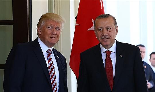 Trump ve Cumhurbaşkanı Erdoğan'dan kritik görüşme