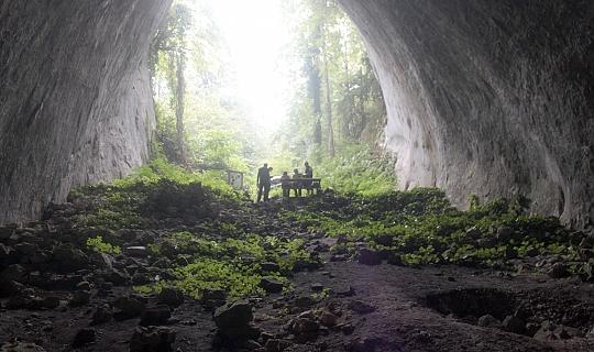 Ilgarin Mağarası'nda insan kemikleri bulundu