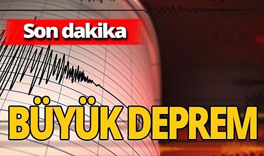 Son dakika! Korkutan deprem!