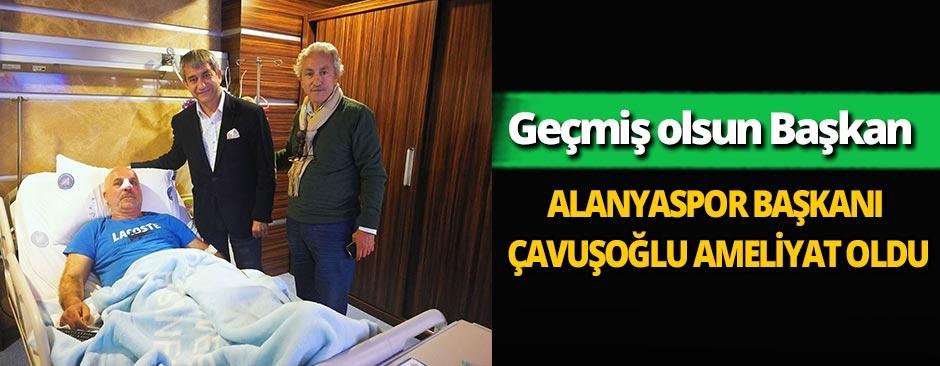AGC Başkanı Yeni'den ameliyat olan Alanyaspor Başkanı Çavuşoğlu'na geçmiş olsun ziyareti