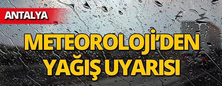 Aman dikkat! Meteoroloji'den yağış uyarısı!