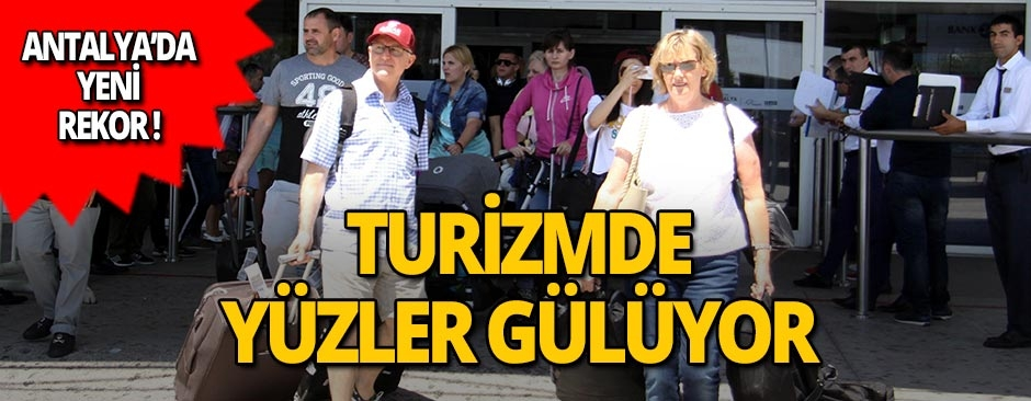 Antalya 2019'a da rekorla girdi!