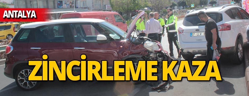 Antalya'da ekipleri alarma geçiren kaza!